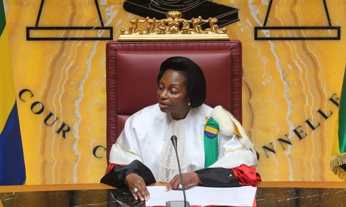 Nouvelle plainte contre la présidente de la Cour constitutionnelle du Gabon